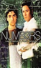 Numb3rs: The Complete First Season (DVD, 2006, 4-Disc Set) Brand New
