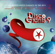 DISCO GIANTS Volume 9 (2-CD) Great 80's 12 inches   (  ST. Paul,  Skyy )