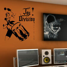 LARGE JOY DIVISION AN IDEAL FOR LIVING WALL ART STICKER STENCIL TRANSFER DECAL