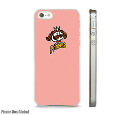 PRINCESS PRINGLES FUNNY COOL CLEAR CASE FOR IPHONE 4S 5 5S 5C 6 6S 7 8 SE X PLUS