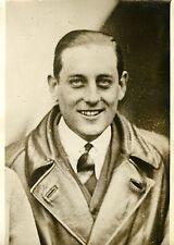 """""""L'AVIATEUR ASSOLANT: COUPE SCHNEIDER 1931"""" Photo originale G. DEVRED (Agce ROL)"""