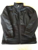 Columbia Black Fleece Zip Up Jacket Boys Girls Size Medium