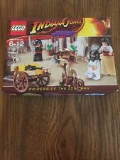 Indiana Jones Lego Big Lego Sets Ambush In Cairo Sealed Minifigures Crafting Box