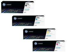 4Pack Genuine HP OEM CF410A CF411A CF412A CF413A 410A Toner Cartridge Laserjet