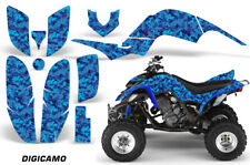 ATV Decal Graphic Kit Quad Sticker Wrap For Yamaha Raptor 660 2001-2005 DIGI BLU