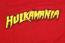 Hulk Hogan Hulkamania 2002 Red T-Shirt XL Hollywood WWE WWF TNA Wrestling Nwo