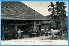 CPA: CHAPOIS (Jura) - Le Café-Restaurant David / 1917