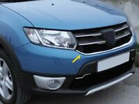 Chrome Grille de Calandre 1pcs INOXYDABLE Dacia Sandero Stepway / Logan MCV II