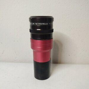 "Buhl Optical Projection Projector Lens 4.8"" - 7.5"" VFL f:3.8 CAT. No. 136-060"
