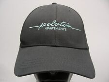PELOTON APARTMENTS - SHIFT UP - GRAY - ONE SIZE ADJUSTABLE BALL CAP HAT!