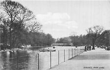 POSTCARD   LONDON  REGENTS  PARK   Lake             TUCK