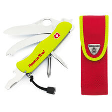 VICTORINOX SWISS ARMY Rescue Tool KNIFE + Free Base Cap      Free US Shipping