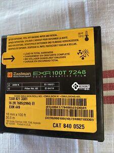 Kodak Eastman MPS 16mm Color Negative 100T 7248 3200K Sealed
