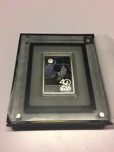 Star Wars 40th Anniversary 1oz Silver Coin