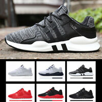 2019 Mens Teens Mesh Trainers Lace Up Sports Gym Sneaker Breathable Shoes Sizes