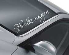 Volkswagen Windscreen Sticker Car Lowered DUB Bumper Polo Passat Lupo Decal m119