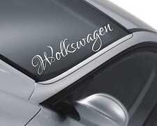 Volkswagen Parabrisas Etiqueta Auto Rebajado Dub parachoques Polo Passat Lupo calcomanía M119