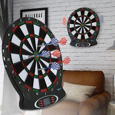 Elektronisch Dartscheibe Dartautomat Dartboard mit 6 Darts Profi Dartspiel LI 01