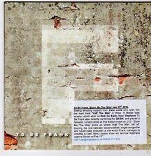 (FG852) To Be Frank, Show Me The Way - 2014 DJ CD