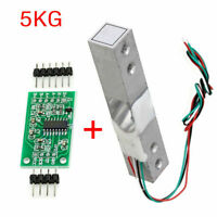 5KG Scale Load Cell Weight Weighing Sensor +HX711 Weighing Sensors AD Module