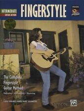 Intermediate Fingerstyle Guitar Method TAB Music Book/CD Fingerpicking Acoustic