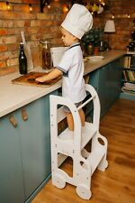 3in1 Kitchen Helper Tower Montessori kitchen stool step kitchen decor toddler