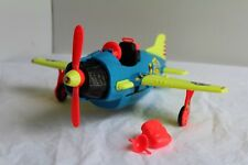 Vintage TYCO INCREDIBLE CRASH TEST DUMMIES PLANE PLAYSET 90S TOYS A67 See Picts