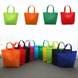 1pc Foldable Reusable Eco Grocery Tote Recycle Handbag Storage Shopping Bag