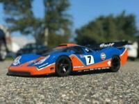 Carrozzeria BODY RC 1/8 Porsche GTR EVO + Alettone/spoiler boot
