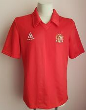 Spain 1984 - 1996 Home football ultra  rare shirt le coq  sportif size XL