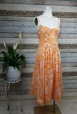 Country Road Size 8 / S Orange Summer Cotton Dress (Perfect Holiday item)