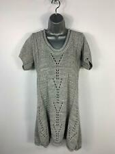 WOMENS NEW LOOK INSPIRE GREY SHORT SLEEVE CREW NECK PULLOVER JUMPER PLUS SIZE 20