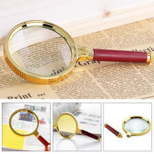 10X Large 90mm Handheld Magnifier Reading Magnifying Glass Lens Jewelry Loupe