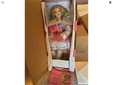 Paradise Galleries New Porcelain Doll Ginny By Patricia Rose Country Girl Rare
