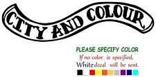 "City and Colour Rock Music JDM Vinyl Decal Car Sticker Window bumper laptop 7"""