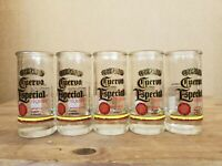 SET OF 5 Tall Shot Glass Shooter JOSE CUERVO ESPECIAL Tequila MEXICO
