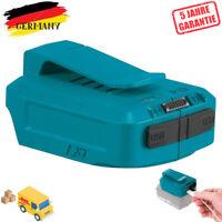 USB Ladeadapter für Makita ADP05 Li-Ion Akku 14.4V-18V BL1430,LXT,BL1830,BL1850B