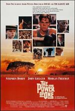 THE POWER OF ONE -27x40 D/S Original Movie Poster One Sheet 1992 Morgan Freeman