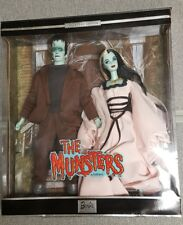 2001 The Munsters Giftset Barbie & Ken~Lily & Herman~ #50544--mint