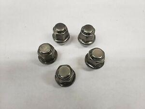 Qty/5 Napa 641-4349 Wheel Nut M12-1.5 Dometop Capped Nut - 19mm Hex, 30.4mm L
