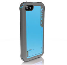 GENUINE Ballistic iPhone 5 5S SE Every1 Tough Stand Case Cover | Blue/Grey
