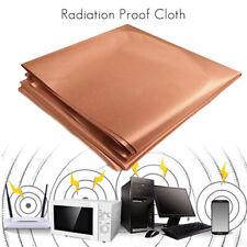 EMF RFID RF Signal Shielding Fabric Roll - 1m*1.1m Conductive Golden Cloth New