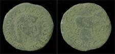 Spain Calagurris Tiberius AE As