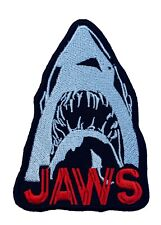 Jaws Patch Embroidered Badge Horror Movie Poster Shark Martin Brody The Revenge