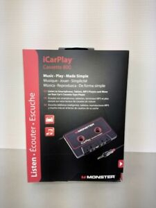 Monster iCarPlay Cassette Adapter 800 Car Cassette Adapter