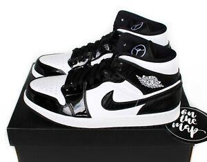 Nike Air Jordan 1 Retro Mid SE ASW Carbon Fiber Black UK 5 9 10 11 US New