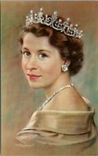 Queen Elizabeth Yousuf Karsh Portrait Unused Postcard F18