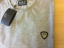 Ea7 genuine emporio Armani shield t shirt grey L large 42/44 mens RRP £65 bnwt