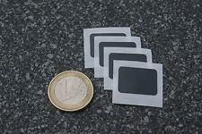 4 x NFC Tag Sticker XS schwarz NTAG203 15x20mm Aufkleber - für alle NFC Geräte!!