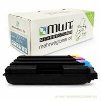 4x MWT Eco Cartuccia per Kyocera FS-C-5016-DN FS-C-5016-B